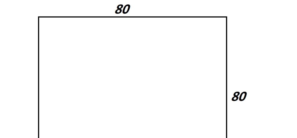 دریچه منهول مربعی چدنی سایز 80