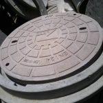 دریچه منهول دایره ای بتنی سایز 60